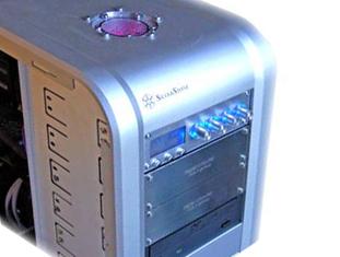 Aquacomputer Aquatube res + Aquadrive dual HDD cooler